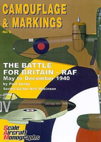 Guideline Publications USA Camouflage & Markings 2: The Battle For Britain-RAF May to December 1940