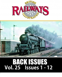Guideline Publications USA British Railways Illustrated - BACK ISSUES vol 25