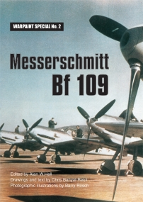 Guideline Publications USA Messerschmitt Bf109 re print from Original book