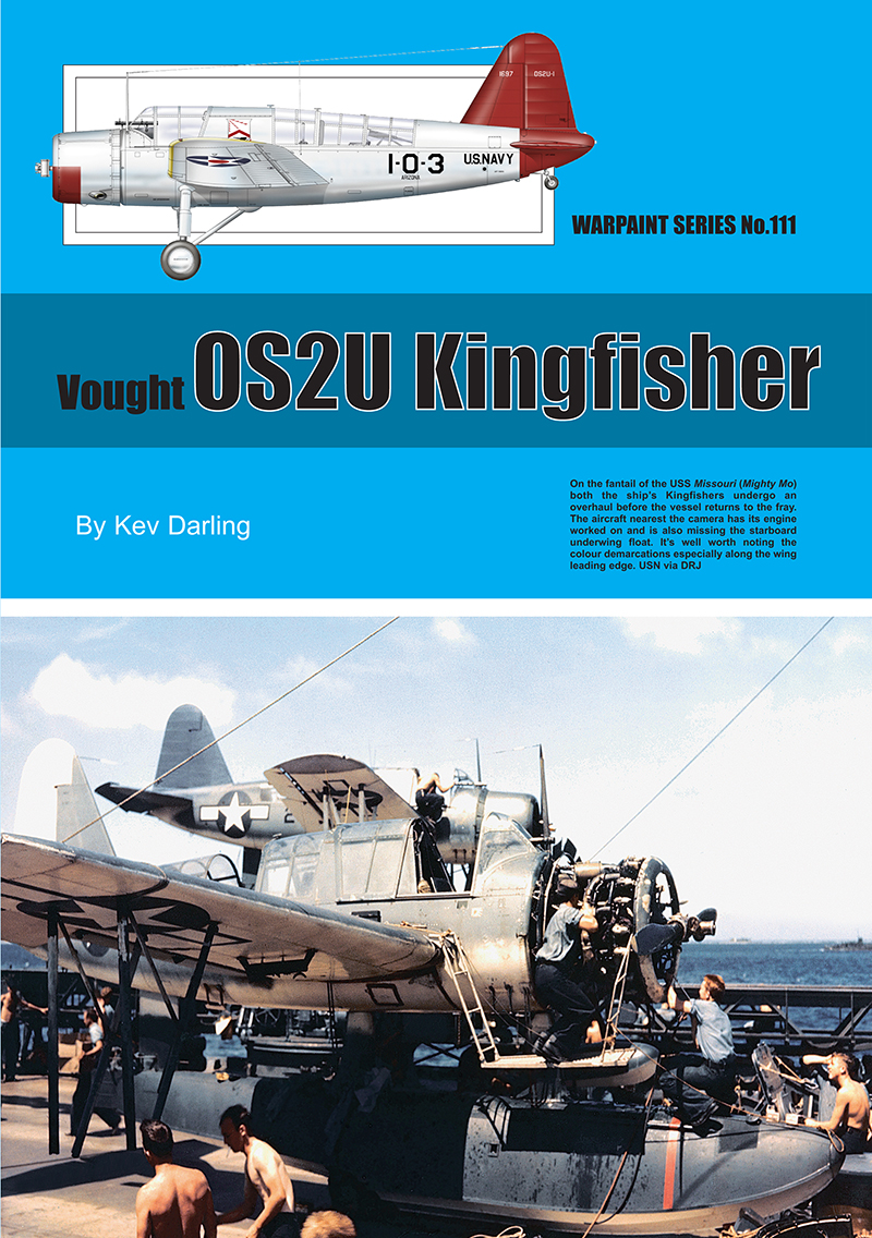 Guideline Publications USA No.111 OS2U Kingfisher No.111  in the Warpaint series