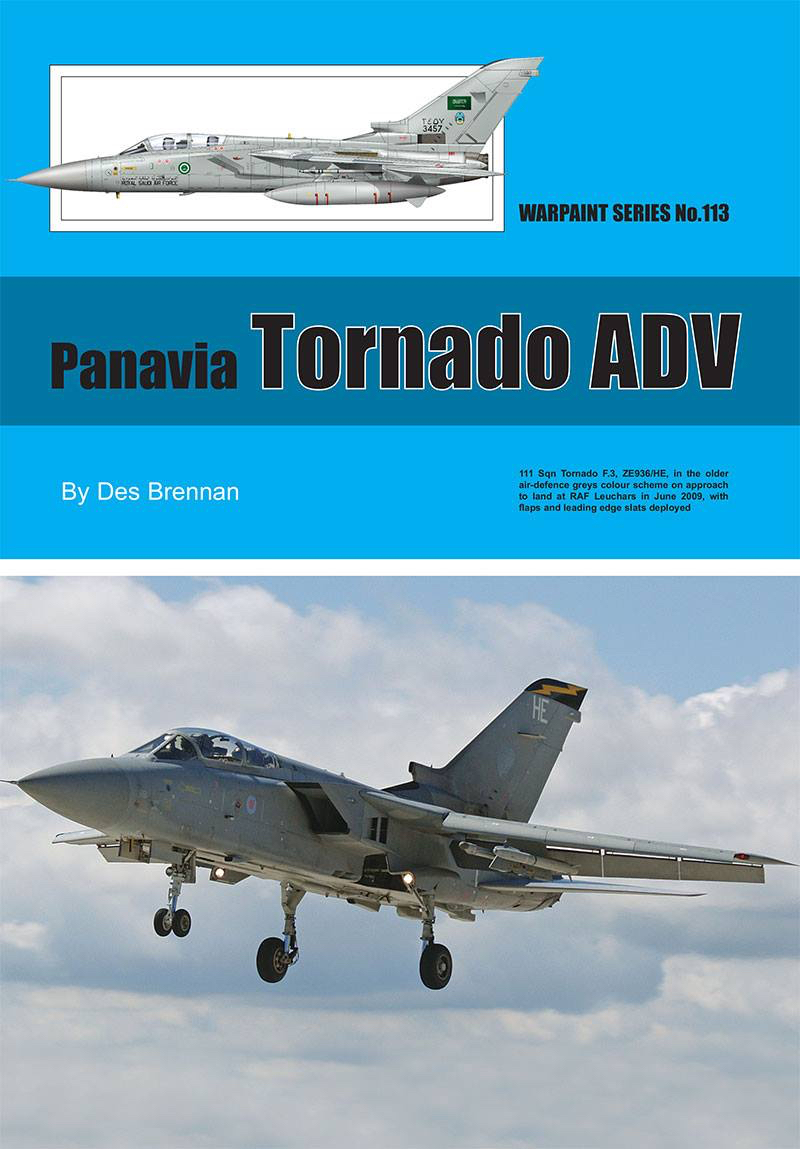 Guideline Publications USA no 113 Panavia Tornado ADV No.113  in the Warpaint series