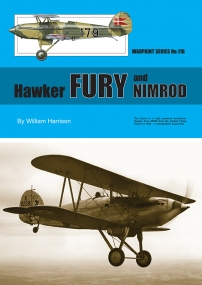 Guideline Publications USA no 116 Hawker Fury and Nimrod