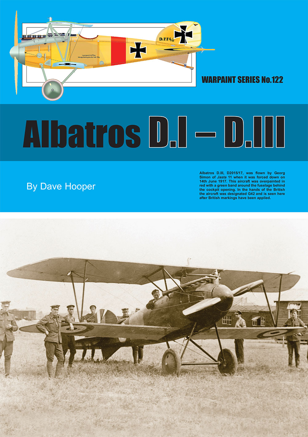 Guideline Publications USA Albatros D.1 - D.111 Warpaint 122