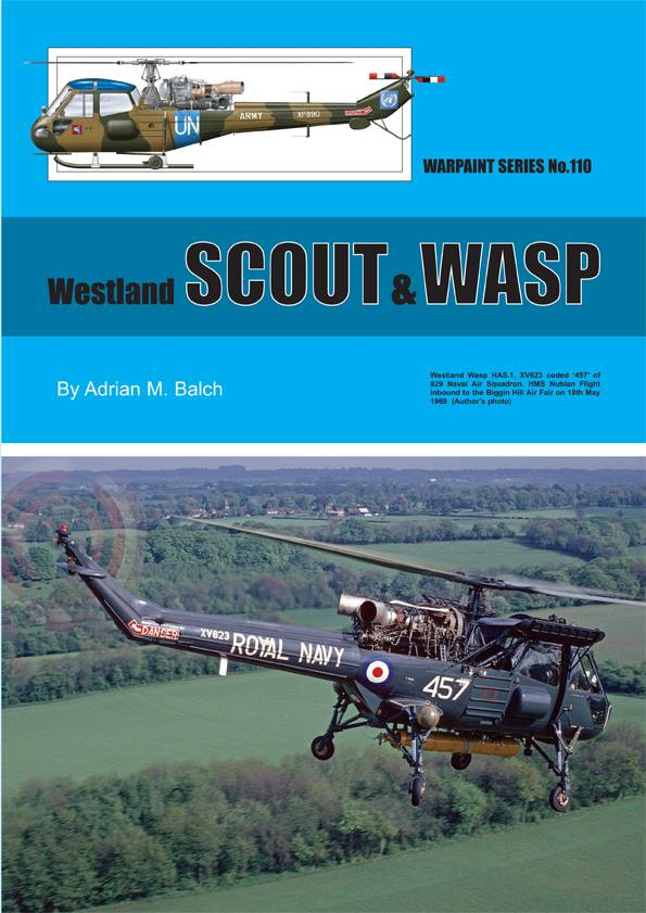 Guideline Publications USA No.110 Westland Scout & Wasp No.110  in the Warpaint series