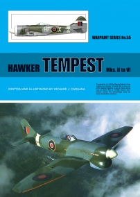 Guideline Publications USA No 55 Hawker Tempest Mks.II to VI