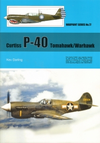 Guideline Publications USA No 77 Curtiss P-40 Tomahawk/Warhawk