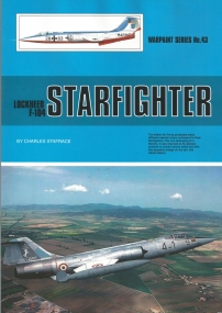 Guideline Publications USA No 43 Lockheed F-104 Starfighter
