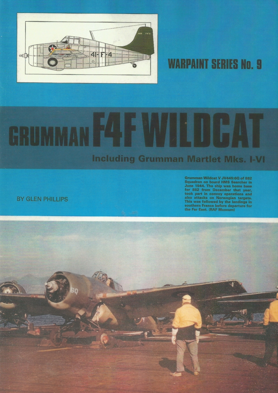 Guideline Publications USA No 9 F4F Martlet/Wildcat