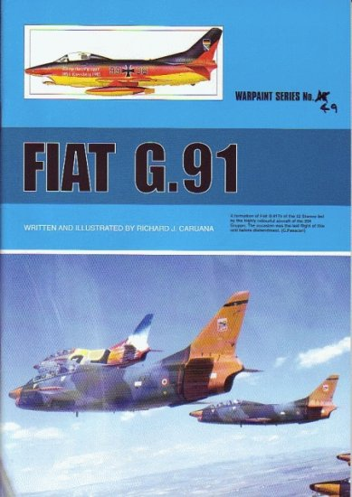 Guideline Publications USA No 49 FIAT G.91