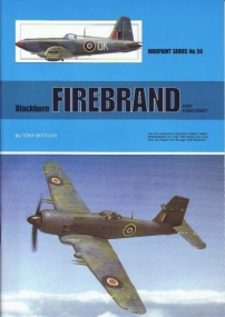 Guideline Publications USA No 56 Blackburn Firebrand and Firecrest