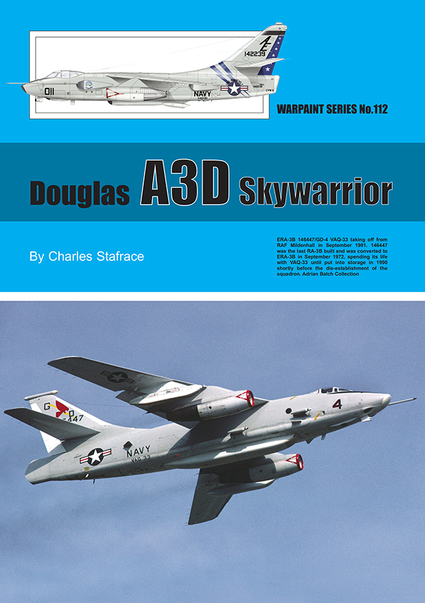 Guideline Publications USA No.112 Douglas A3D skywarrior No.112  in the Warpaint series