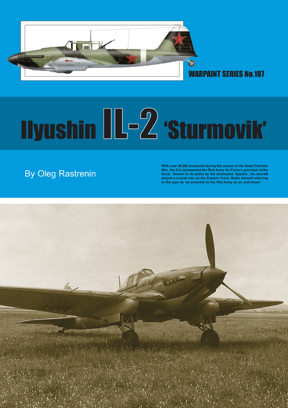 Guideline Publications USA No.107 Ilyushin IL-2 'Sturmovik' No.107  in the Warpaint series