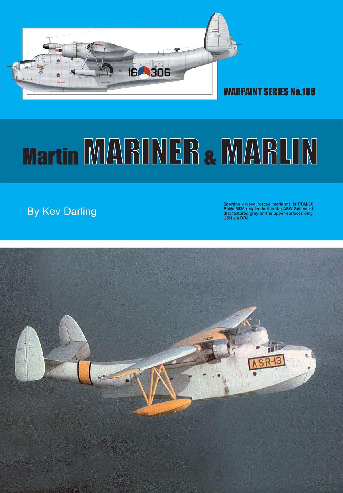 Guideline Publications USA No.108 Martin Mariner & Marlin No.108  in the Warpaint series