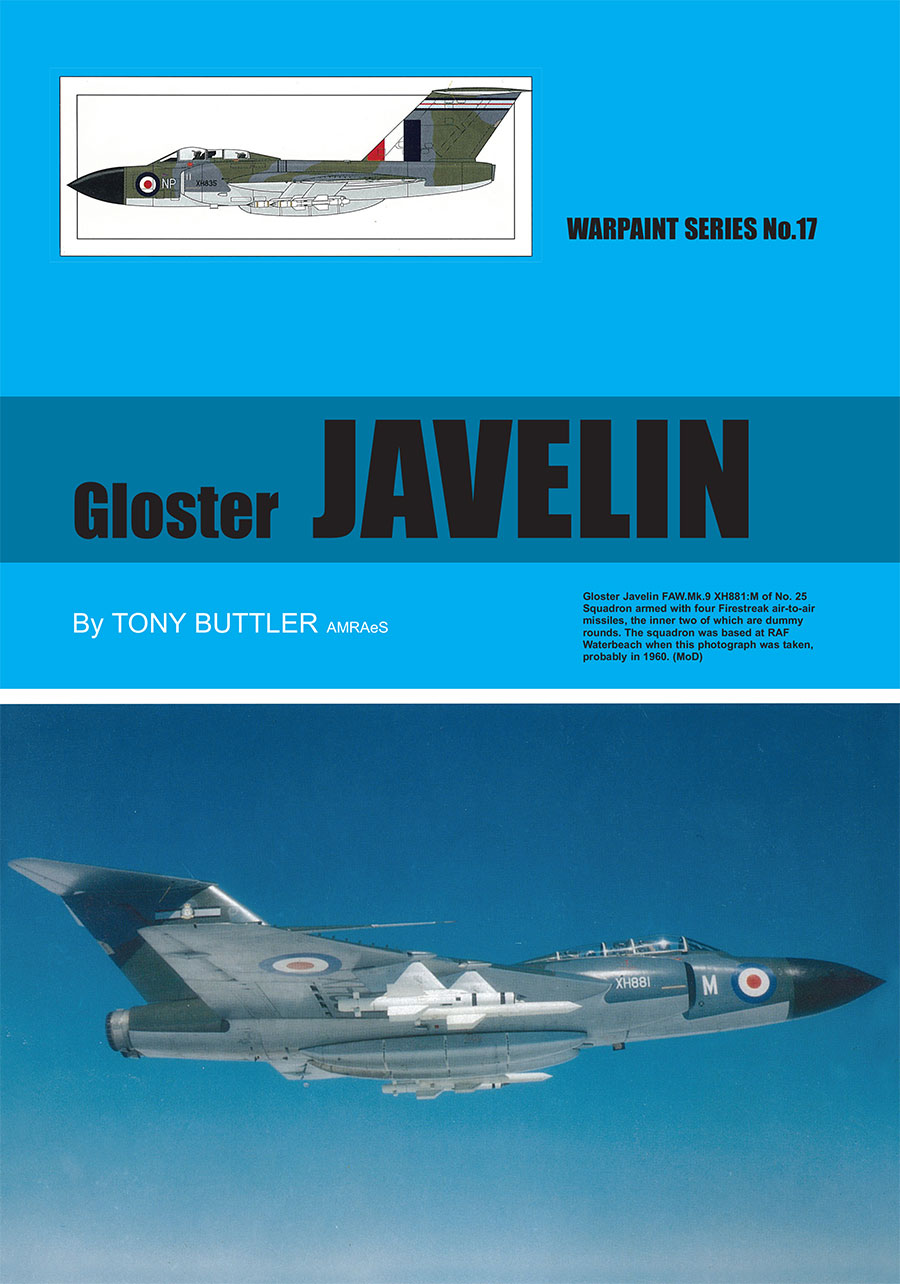 Guideline Publications USA No 17 Gloster Javelin