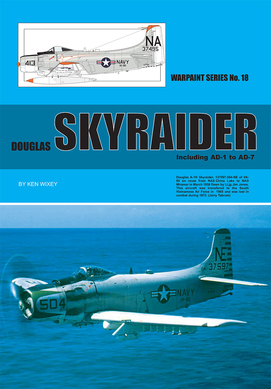 Guideline Publications USA No 18 Douglas Skyraider