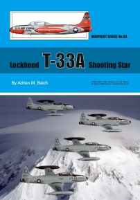 Guideline Publications USA No 88 Lockheed T-33A Shooting Star