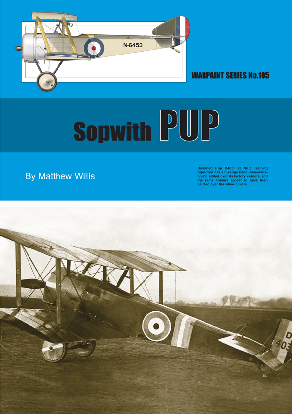 Guideline Publications USA No.105 Sopwith Pup No.105  in the Warpaint series