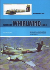 Guideline Publications USA No 54 Westland Whirlwind F.Mk.I