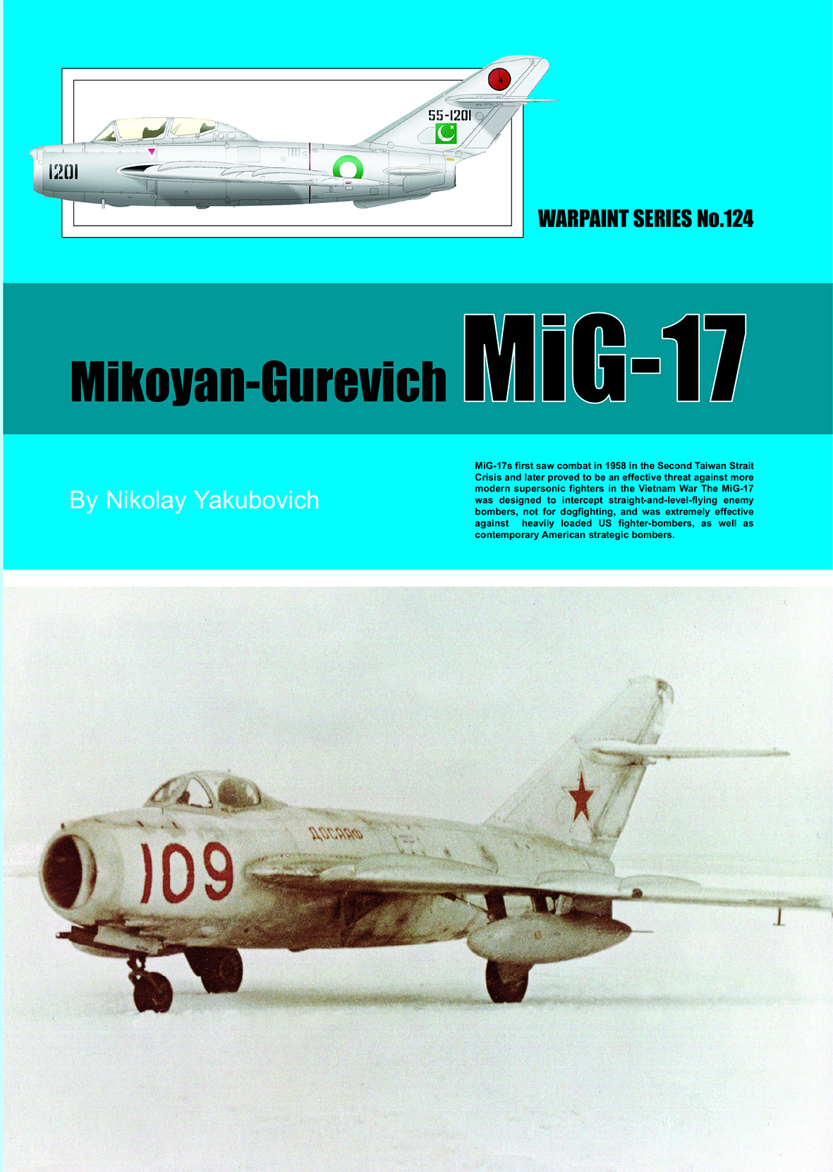 Guideline Publications USA Mikoyan-Gurevich MiG-17 Warpaint 124